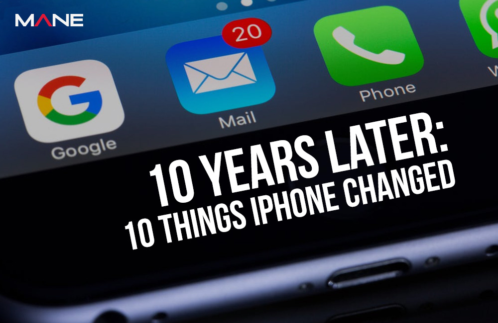 10 Years Later: 10 Things iPhone Changed
