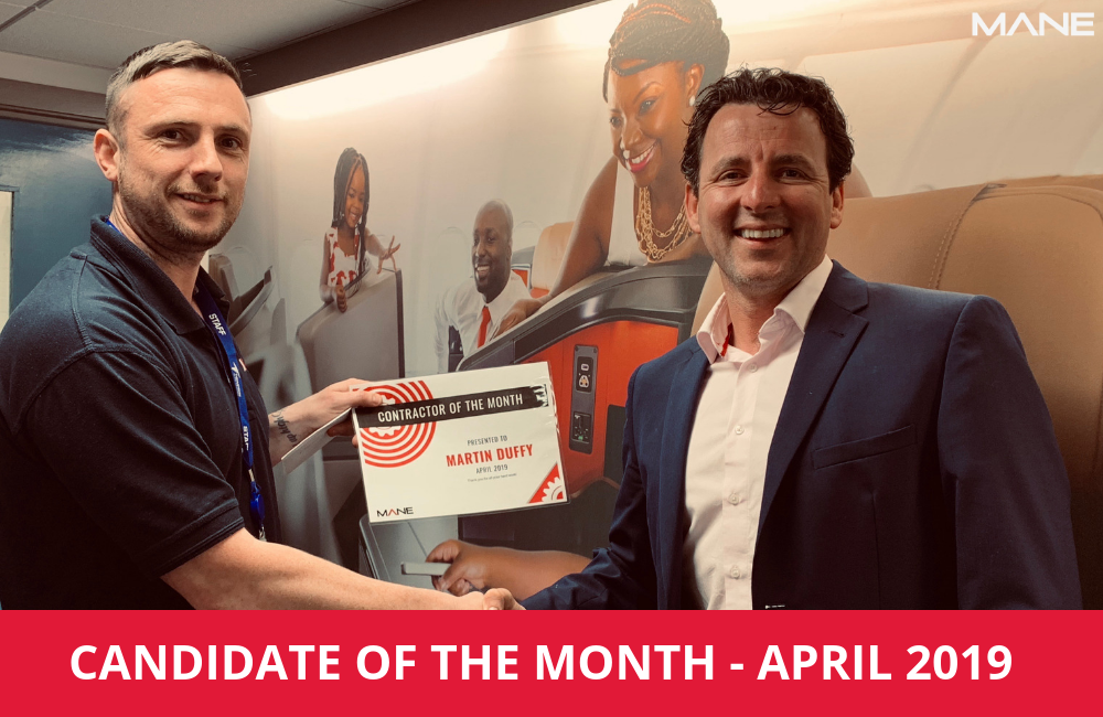 Candidate of the Month – April 2019