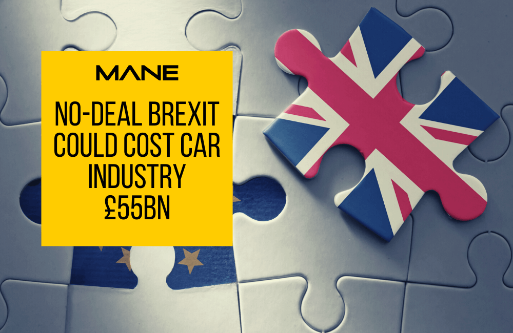 No-deal Brexit could cost car industry £55 billion