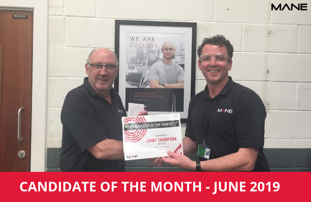 Candidate of the Month – June 2019