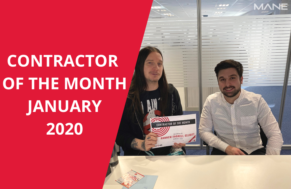 Contractor of the month January 2020