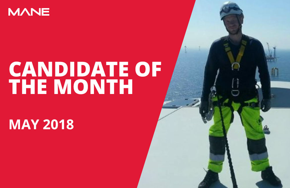 Candidate of the Month - May 2018