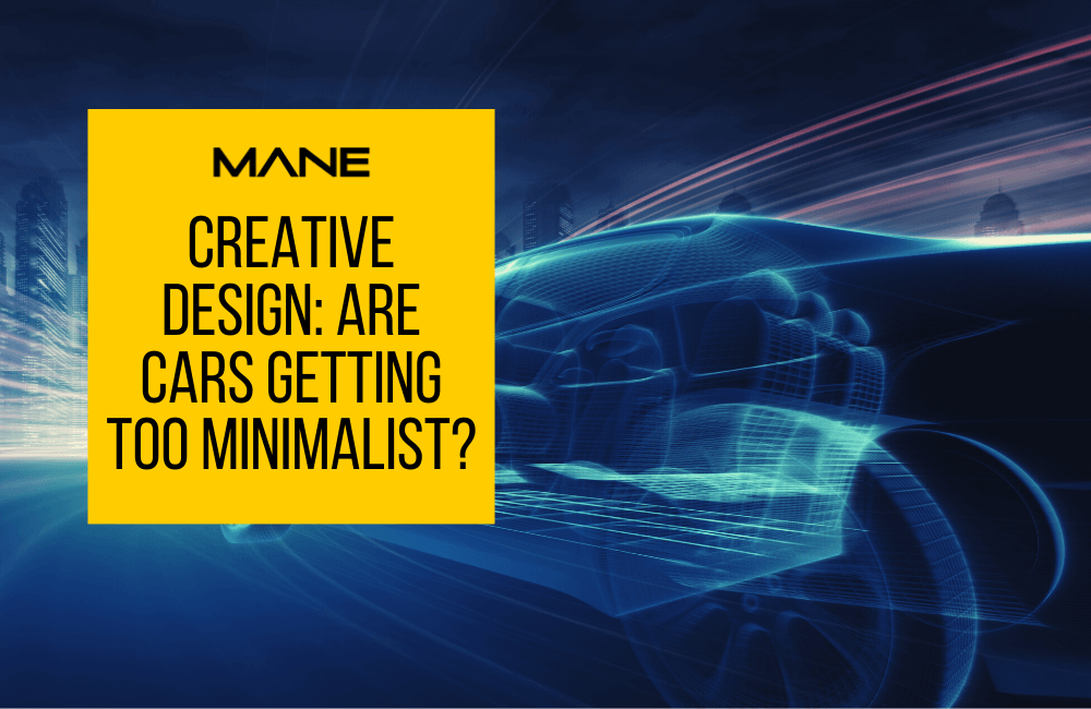 Creative design: are cars getting too minimalist?