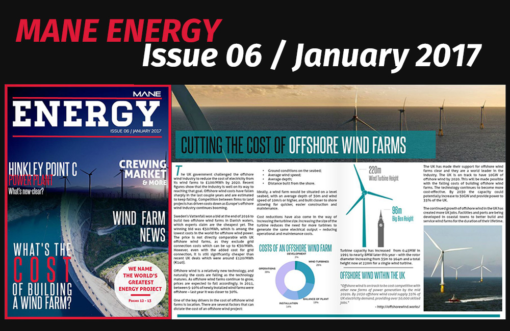 Mane Energy Magazine Issue 6 - January 2017