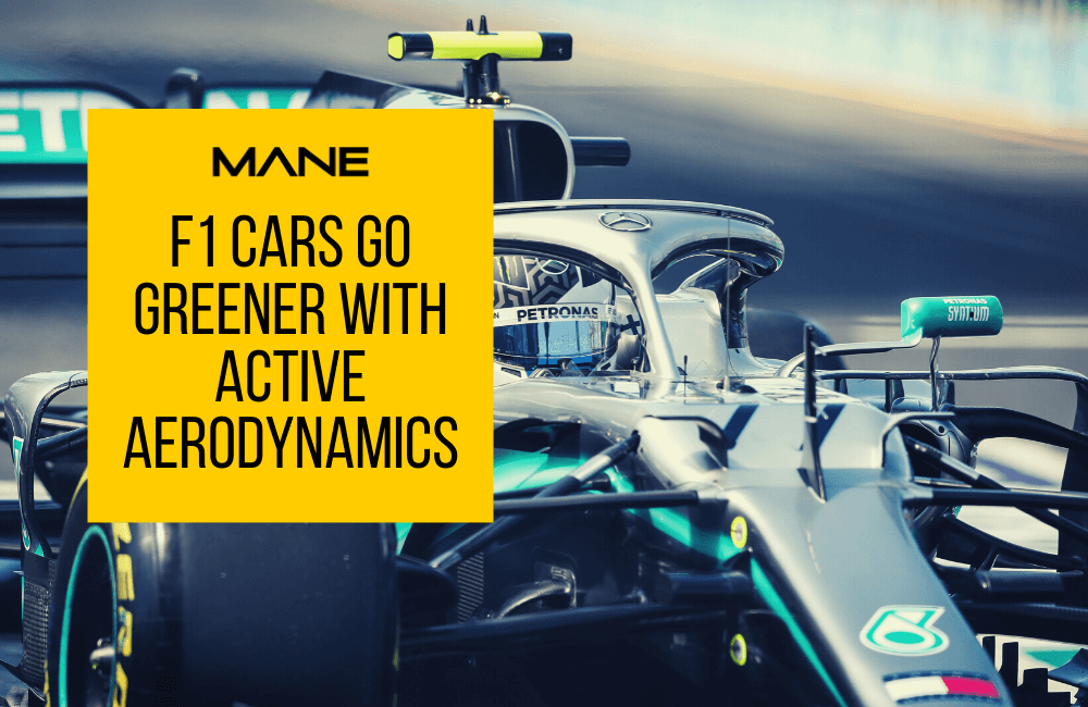 F1 cars go greener with active aerodynamics