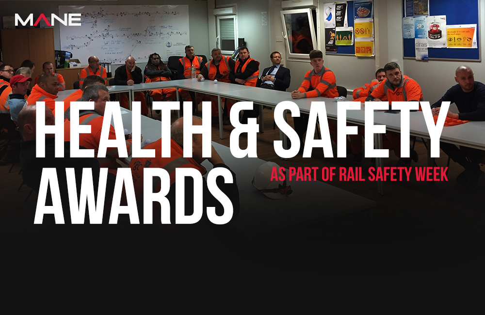 Health & Safety Awards - Rail Safety Week