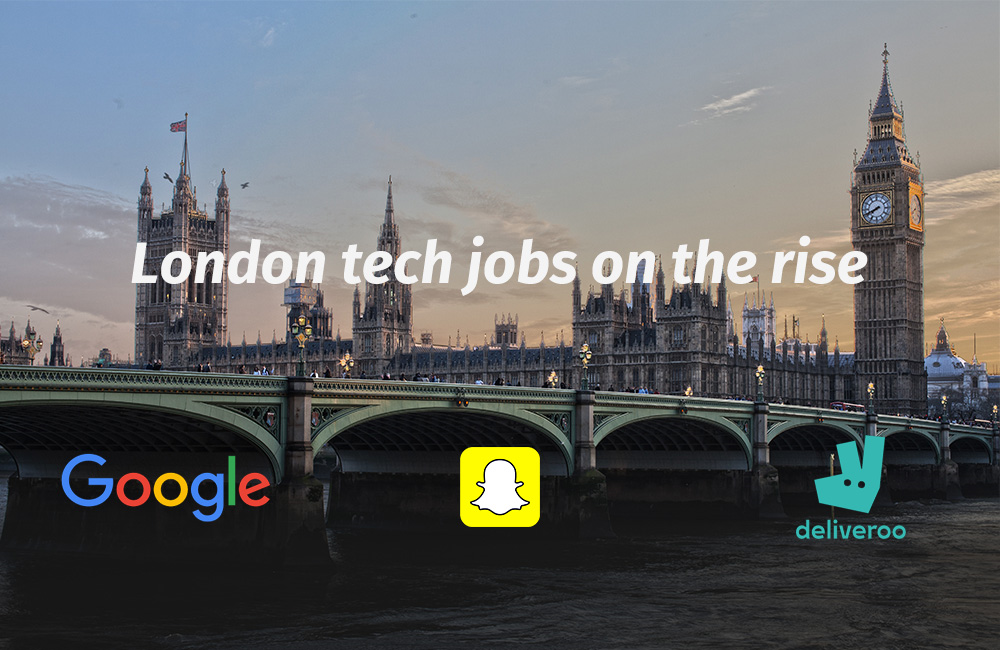 Tech jobs on the rise in London – is Brexit to thank?