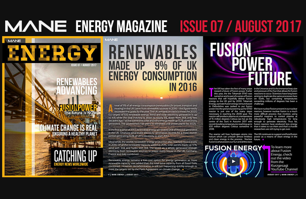 Mane Energy Magazine Issue 7 - August 2017