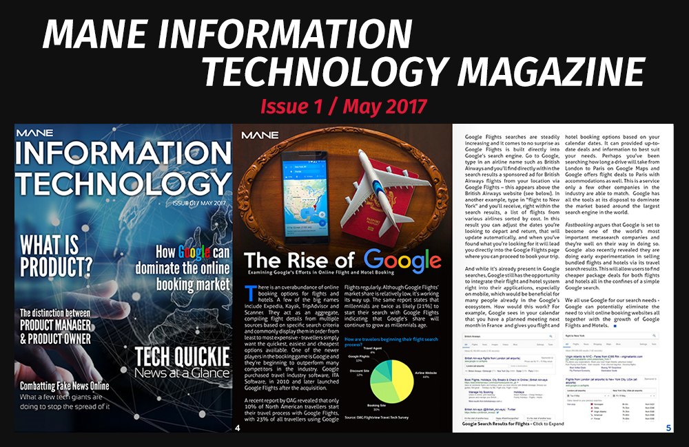 Mane Information Technology Magazine Issue 1 - May 2017