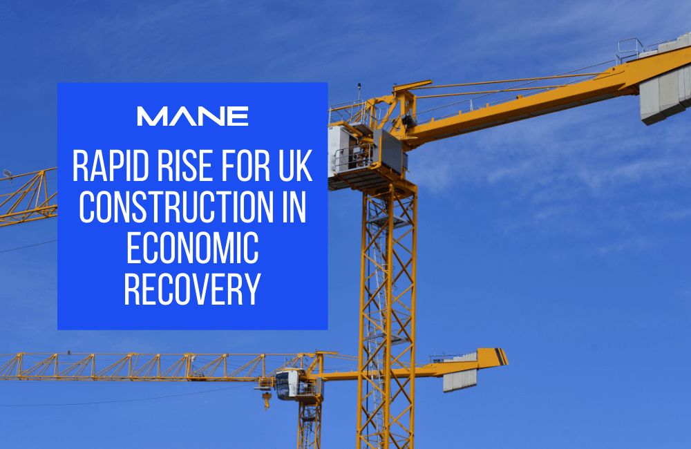 Rapid rise for UK construction in economic recovery