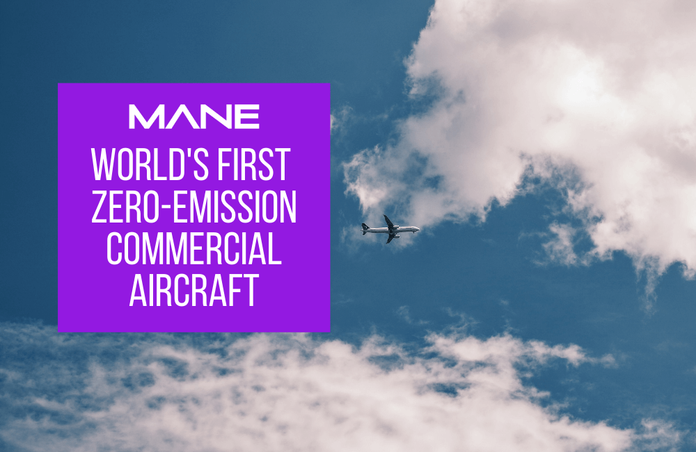 World's first zero-emission commercial aircraft