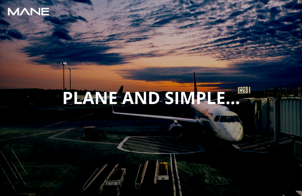 Plane and simple…