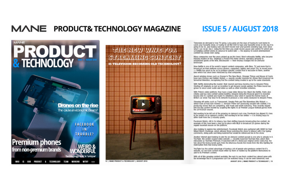 Mane Product & Technology Magazine Issue 5 - August 2018