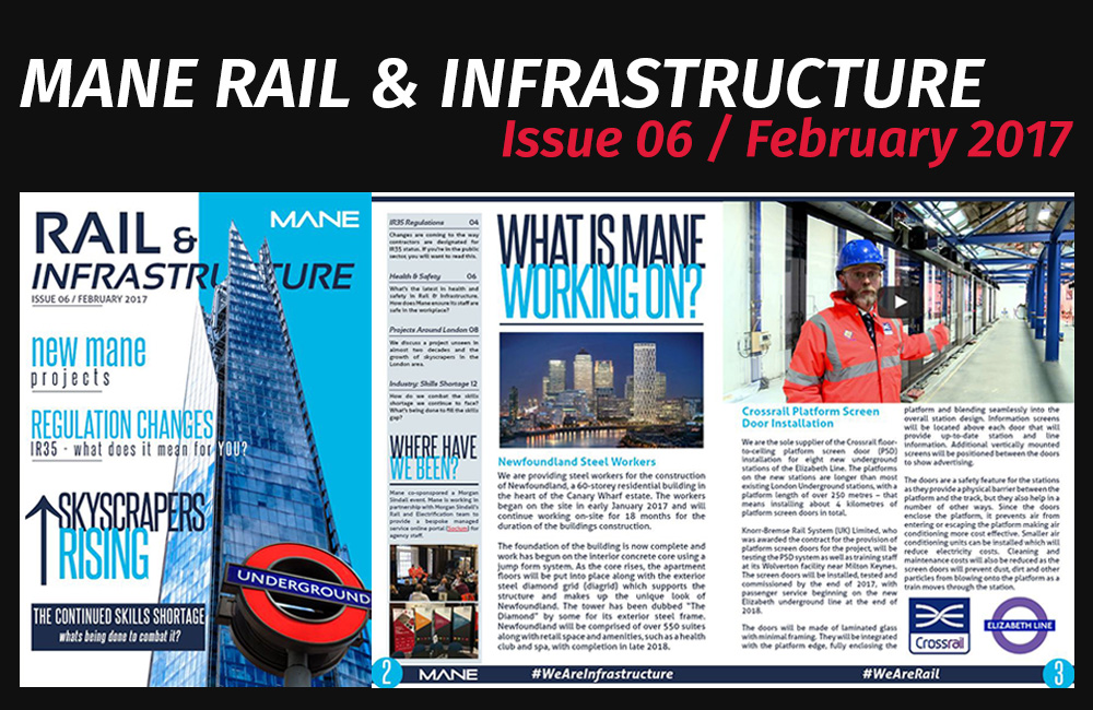 Mane Rail & Infrastructure Magazine Issue 6 - February 2017
