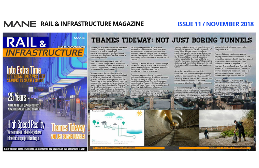 Mane Rail & Infrastructure Magazine Issue 11 - November 2018