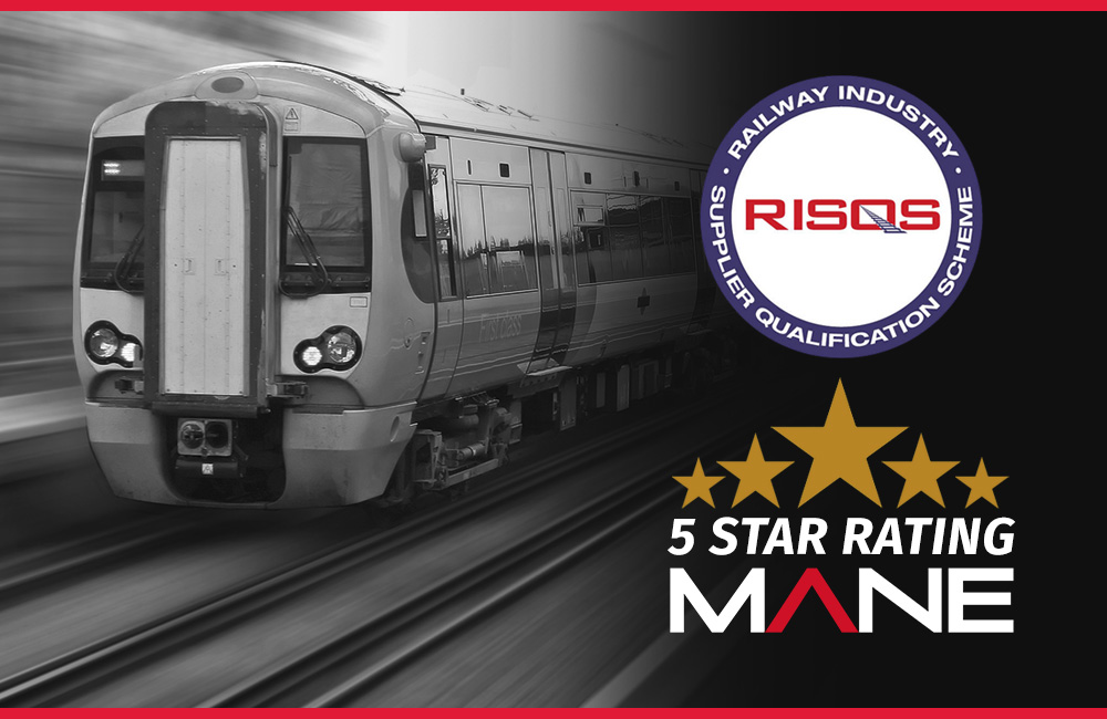 Mane has achieved RISQS 5 Star accreditation 3 years in a row