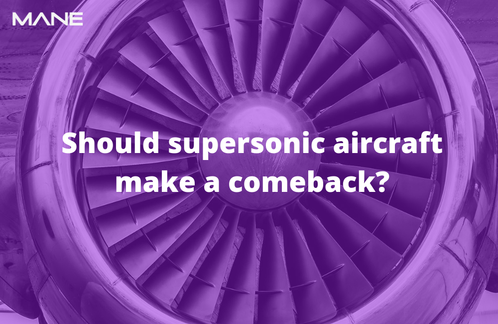 Should supersonic aircraft make a comeback?